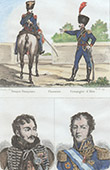 French Army - Military Uniform - Compagnie d'Elite - Portraits - Lasalle (1775-1809) - Klein (1761-1845)