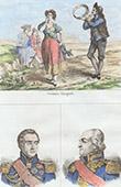 Costume Traditionnel Espagnol - Portraits - Marmont (1774-1852) - Moncey (1754-1842)