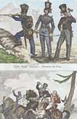 Prussian Army - Military Uniform - Imperial Guard - Death of Louis Ferdinand of Prussia (1806)