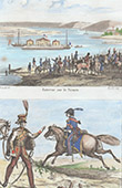 Meet of Napoleon and the Tsar Alexander I of Russia on the Neman River (1807) - French Army - Aide-de-camp