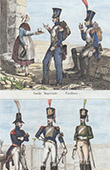 Arm�e Su�doise - Uniforme Militaire - Garde Imp�riale - Grenadier - Chevau-L�gers