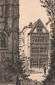 Vue de Rouen - Maison du XVI�me Si�cle (France)