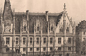 View of Rouen - Courthouse (France)