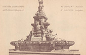 Fountain of Brouck�re in Brussels - Belgium (Henri Beyaert)