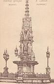 Fontaine Gothique � L�beck - Allemagne