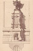 Fontaine - Cour d'une Maison Rue Halevy � Paris