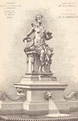Fontaine - Exposition Universelle 1889 - Pavillon de l'Hygi�ne - Paris (Ch. Girault - A. Cordonnier)