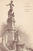 Fontaine du duc Eug�ne de Wurtemberg � Stuttgart - Allemagne