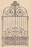 Wrought Iron Railing - City Hall (Raguenet)
