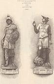 Statues - Logetta - St Mark's Square - Piazza San Marco in Venice - Minerva - Mercury - Italy (Sansovino)