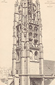 Turm - Alte Kirche Laurentius in Rouen - Seine-Maritime - Frankreich