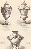 Vases - S�vres porcelain - Style Louis XVI - Style Louis XIV (J. Berain) - Style Louis XV (Fran�ois Boucher)