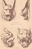 Lions - Greek lions - Vatican Museums - Italy - �cole des Beaux-Arts in Paris - France