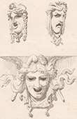 Mask - Theater - Th��tre du Vaudeville in Paris (Magne - Bloche)