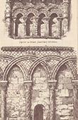 Arcades - Rioux Church - Charente-Maritime - Church in Hampshire - Great Britain