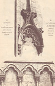 Arcade - Arch - Ch�teaudun Castle - Eure-et-Loir - Amiens Cathedral  - Somme - France