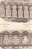 Arcades - Arch - Churchs - Ouistreham  - Calvados - Bussac - Charente-Maritime - France