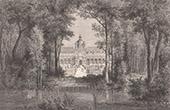 Vue de Paris - Jardin des Tuileries Sous le R�gne de Henri IV (France)