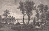 Vue de Paris - Monuments Historiques de Paris - Parc - Jardin - Bois de Vincennes - Lac de Gravelle