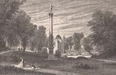Ch�teau de Bagatelle - Bois de Boulogne - France - Charles X  - Folie - Maison de plaisance - D�truit