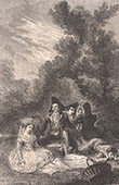 Spanish painting - Le D�jeuner sur l'herbe - The Luncheon on the Grass (Francisco de Goya)