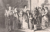 Spanish painting - Charles IV of Spain and His Family (Francisco de Goya y Lucientes)