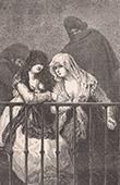Spanish painting - Las majas en el balc�n (Francisco de Goya y Lucientes)