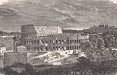 View of Rome - Colosseum - Roman Coliseum - Flavian Amphitheater (E. Therond)