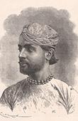 Portr�t von Sheodan Sing Maharao Raja von Ulwur (Indien)