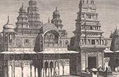Sri Rama Vaikunth Tempel zu Pushkar (Indien - Rajasthan)