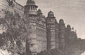 Festung von K�nig Pal zu Gwalior (Madhya Pradesh - Indien)