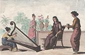 Timor - Dili - Musik - Flicka - Harpa (Indonesien)