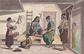 Timor - Coupang - Kvinnar - Tchonka (Indonesien)