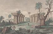 Marianerna - Tinian - Tidigare Monument  (USA)