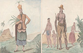 Marianen - Couaham - Tanz von Kaiser Montezuma - Traditionelle Kleidung