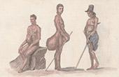 �les Mariannes - Indig�nes atteints de L�pre ou �l�phantiasis (�tats-Unis d'Am�rique)