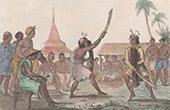 Moluckerna - Buru - Kriga Danser (Indonesien)