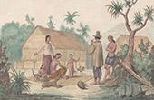 Polynesien - Gouahan Inseln - Wohnung von Indigen V�lker (Ozeanien)