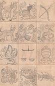 Java - Zodiaken - Stj�rntecken - Hinduism (Indonesien)