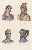 Australien - Portr�tt av Ursprungsbefolkning - Australiens aboriginer (Oceanien)
