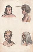 Australia - Portrait of Indigenous people - Indigenous Australians - Tonga - Tana (Oceania)