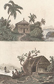 Malaysia (Asia) - Dwellings of Indigenous people - Australia - Arnhem Land - Hut