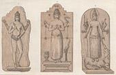 Java - Statyr - Hinduism - Lara Jonggrang - Indisk Trimurti (Indonesien)