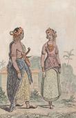 Java - Man och Kvinna av Folket - Folkdr�kt - Bygdedr�kts - Br�llop - Bruden (Indonesien)