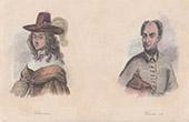 Portraits of Christina of Sweden (1626-1689) - Charles XII of Sweden (1682-1718)