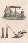 Pacific Islands - Franska Polynesien - Tahiti - S�llskaps�arna - Musikinstrument - Alambic