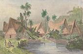 Caroline Islands - Dwelling of Ualan