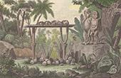 Pazifik Inseln - Franz�sisch-Polynesien - Tahiti - Abgotten - Altaren