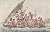 Pacific Islands - Franska Polynesien - Flotte - Gambier �ar - Ursprungsbefolkning