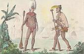 Marquesas�arna - Nuku Hiva - Tatuerade Krigare